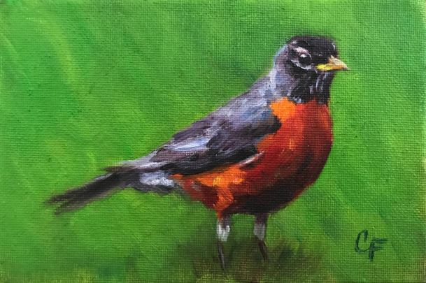 Robin by Christine Forcucci $110