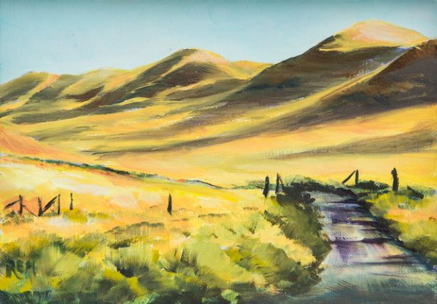 Skull Creek Road, Owyhee Canyon, Oregon by Ruth Maupin $110