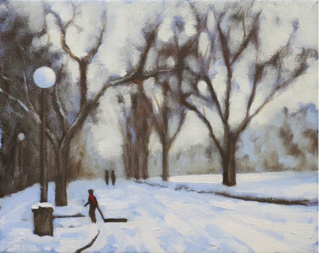Snow Day by Corina Linden $300