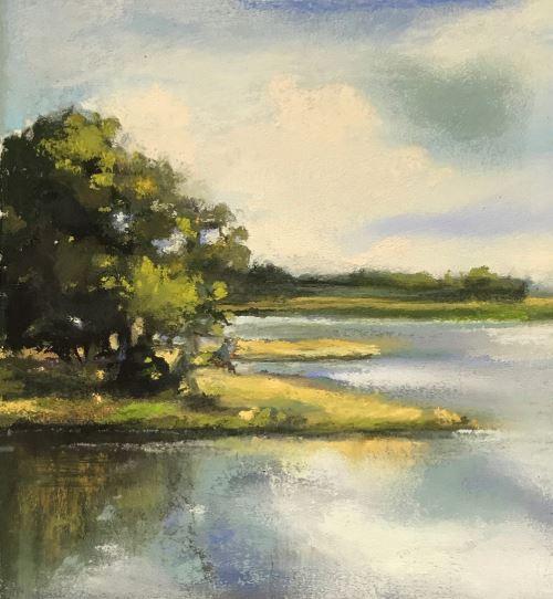 South Carolina Banks by Vicki Johnson $100