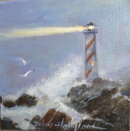 St. Elmo's Light by Delores Haugland $120