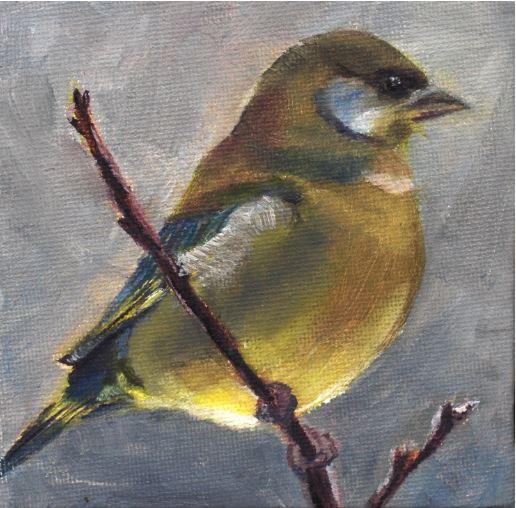 Sun Tummied Bird by Carol Dungan $100