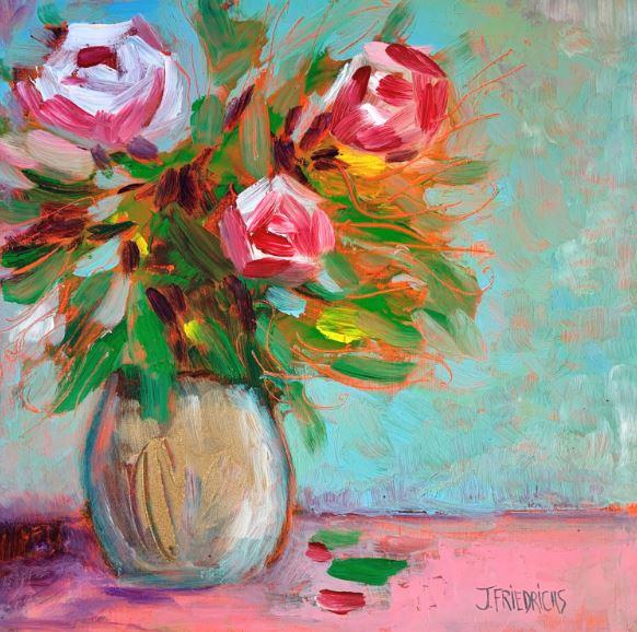Sunday Bouquet by Johanne Friedrichs $135