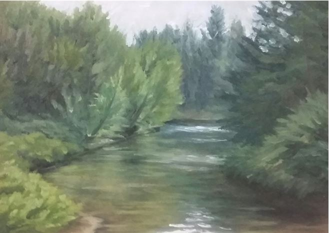 The Slough by Shelby Cook $120