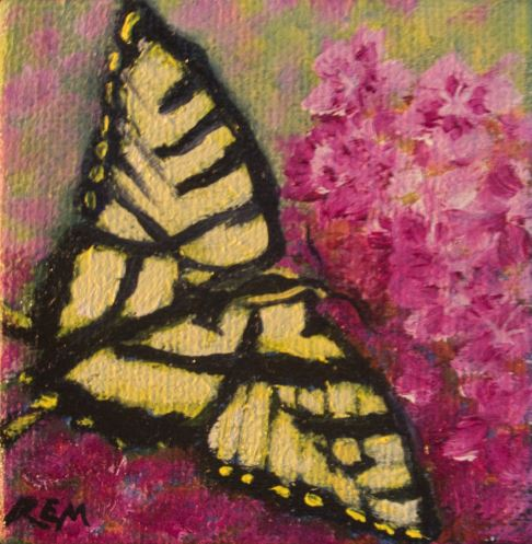 Tiger in the Pinks by Ruth Maupin $85