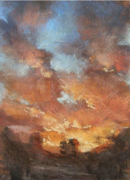 To the Heavens by Deborah Henderson $175
