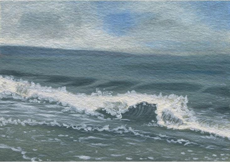 Whidbey Island Haze by Bonnie Johnson $270