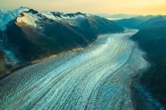 WEB Aerial Baird Glacier Frozen Roads of Ice by Mike Reid