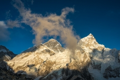 WEB Everest and Lhotse Fading Light by Mike Reid