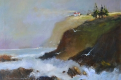 WEB The Light on the Cliff by Delores Haugland