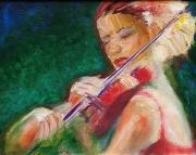 WEB Violin by Leanna Leitzke