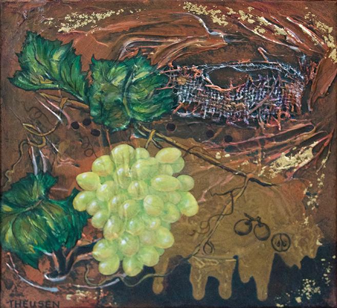 Grapes Squared, Karen Theusen $245.
