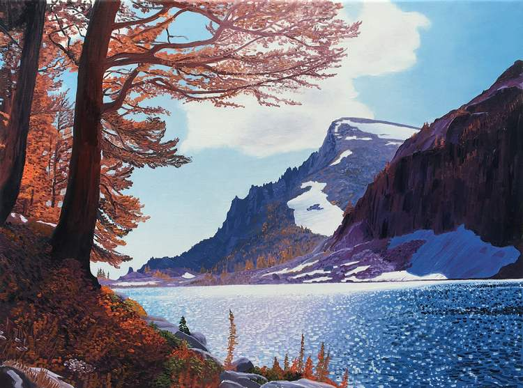 WEB Rune Lake, by Ben Groff, $400