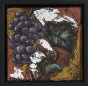 Grapes in Purple by Karen Theusen $165