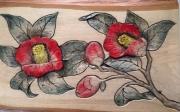 WEB Camellia by Naomi Schneider    $135