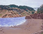 WEB Deception From North Beach by Susan Swapp $400