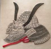 WEB Samurai Helmet by Naomi Schneider   $100