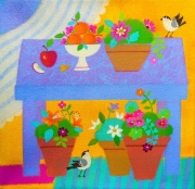 WEB An Apple a Day by Mary Rae $100