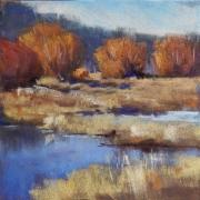 WEB Autumn Marsh by Deborah Henderson $185