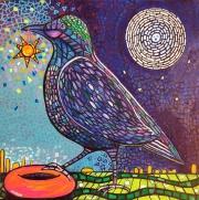 WEB Bagel Bird by Elissa Adelson $175