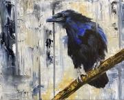 WEB Black Bird by Lisa Kaplan $350