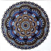 WEB Celadon Mandala by Jeannine Frazier Boone $250