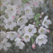 WEB Cherry Blossoms by Corina Linden $150