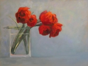 WEB Double Tulips by Corina Linden $300