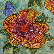 WEB Flora Mosaica by Eliss Adelson $150