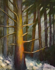 WEB Golden Stillness by Johanne Friedrichs $175