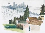 WEB Hilltop View by K D Keckler $250