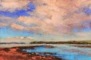 WEB Low Tide at the Reach by Deborah Henderson $135