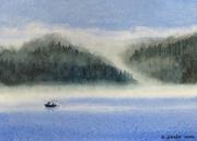 WEB Misty Morn by Roger Baker $125