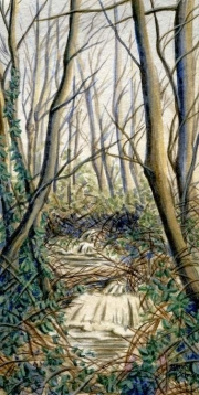 WEB Nickle Creek by Bonnie Johnson $150