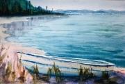 WEB On the Beach by Eileen McMackin $125