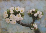 WEB Orchard Blossoms by Corina Linden $175