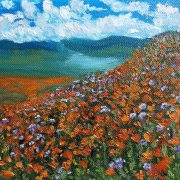 WEB Poppies by Melissa Wadsworth $125