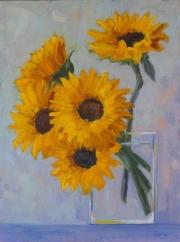 WEB Sunflowers by Corina Linden $400