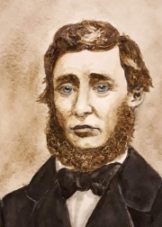 WEB Thoreau by Mary Senter $103