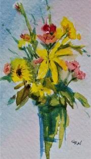 WEB Tiny Lily by Glenda Weibel $100