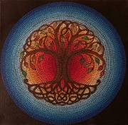 WEB Tree of Life by Jeannine Frazier Boone $150