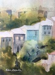 WEB Valparaiso Hilltop by Eileen McMackin $125