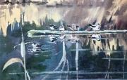 WEB Winter Marsh by Eileen McMackin $125
