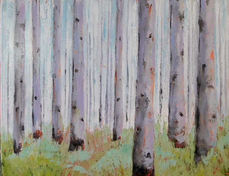 A Walk in the Woods by Leah Rene Welch, $150
