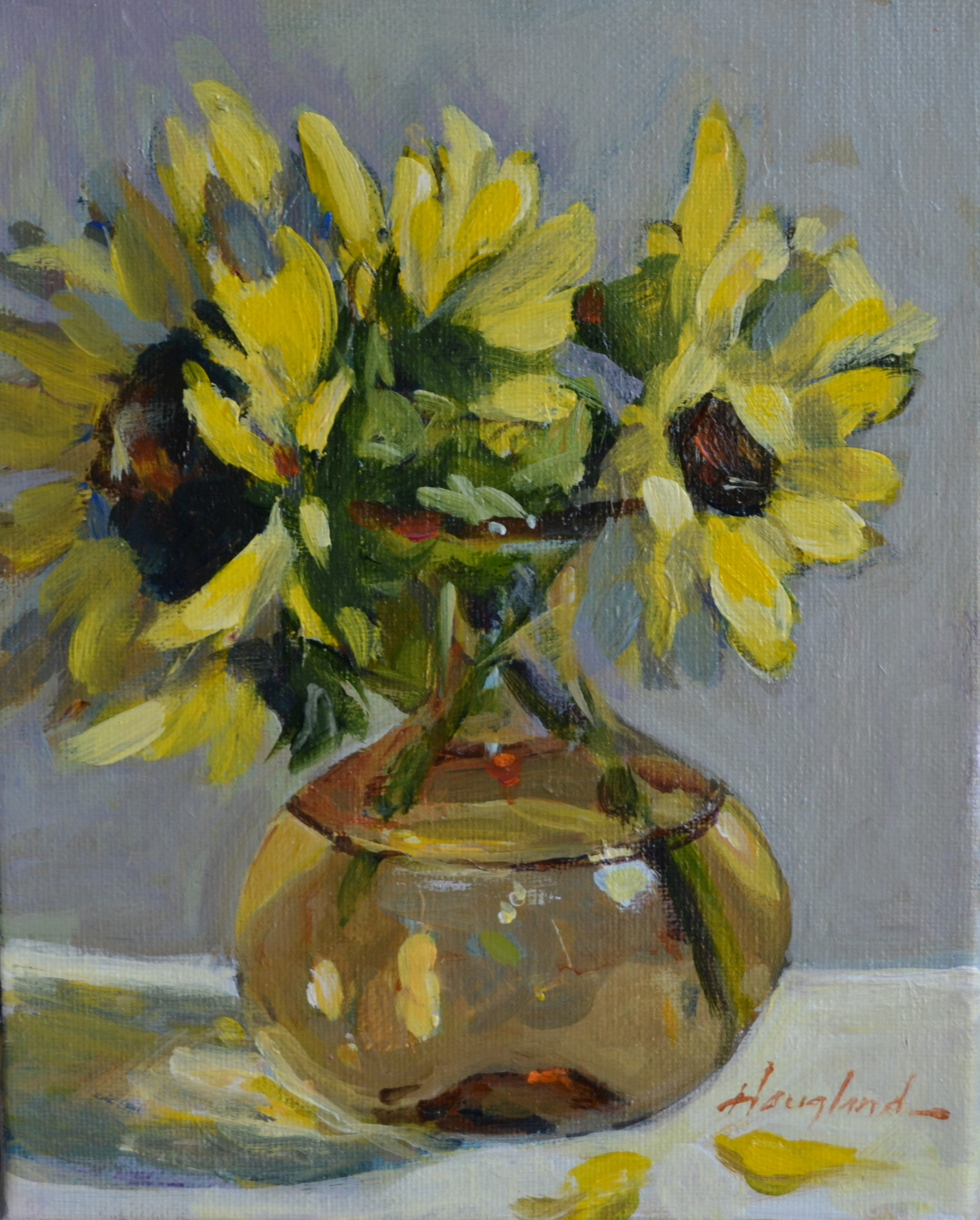 Sunflowers-3-by-Delores-Haugland-