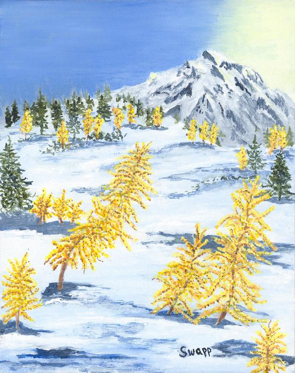 Gold-on-the-Mountain-_-Acrylic-by-Swapp