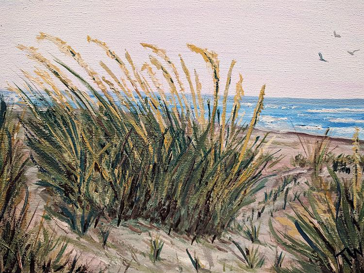 Beach Grass by Theresa Williams, $225