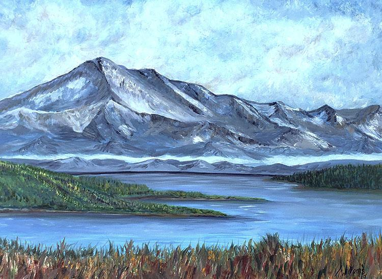Mountain View by Theresa Williams, $580