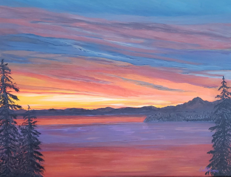 Sunset by Theresa Williams, $299