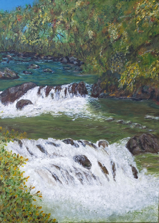 The River by Theresa Williams, $299
